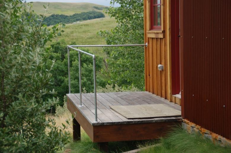 Prairie Barn Deck