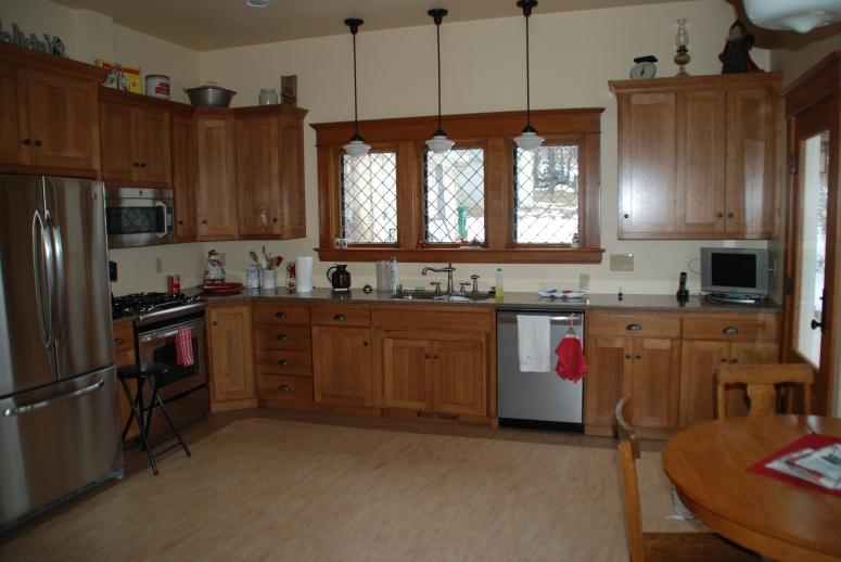 Kitchen addition.
