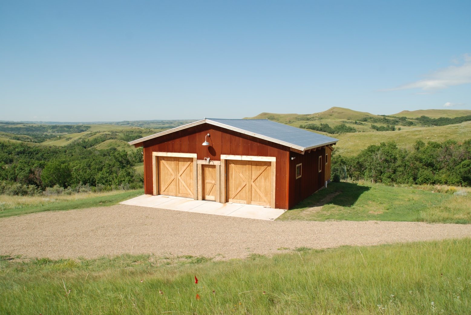 exterior activity barn