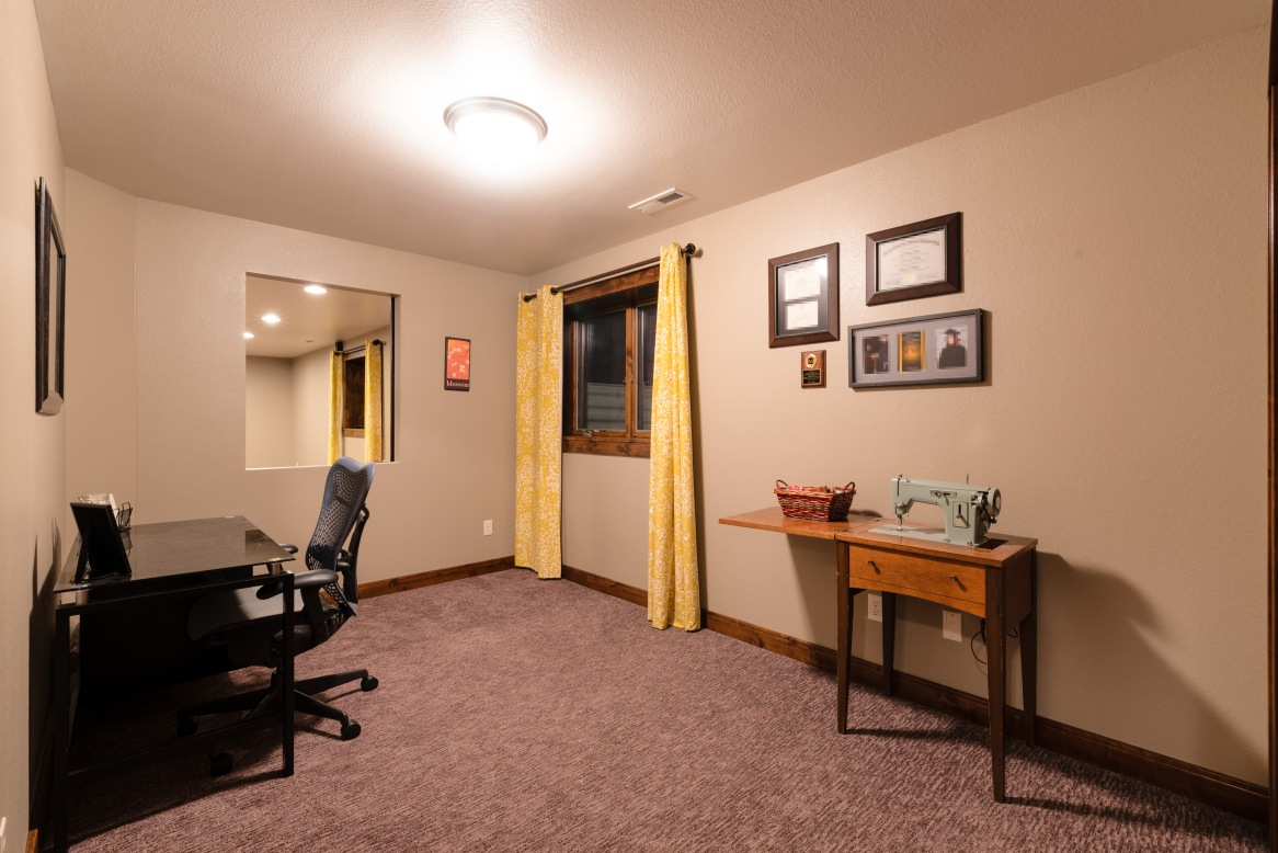 THE at home office, den, or craft space w/ barn door when you need some privacy. (Or Bed 6.)
